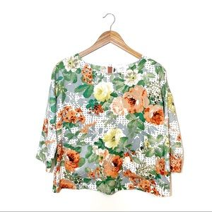 Anthro | HD In Paris Bloomfield Floral Top Size S